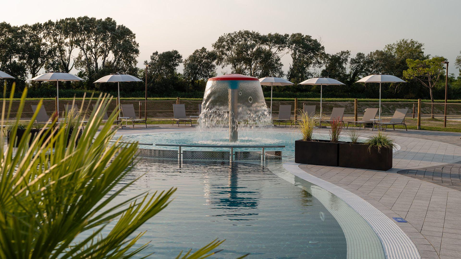Acqua Azzurra Piscine resort con parco piscine a lignano | marina azzurra resort